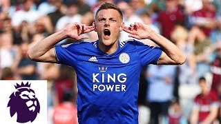 Jamie Vardy's volley equalizes for Leicester City against West Ham | Premier League | NBC Sports