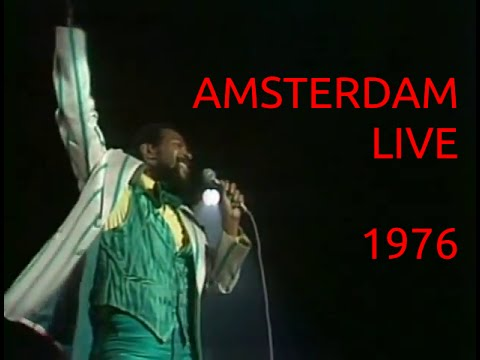Marvin Gaye Live in Amsterdam 1976 (Full Concert)