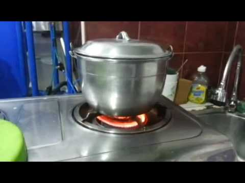Amazing Filipino Invented the First Ever Water Supplemented Stove! Watch!