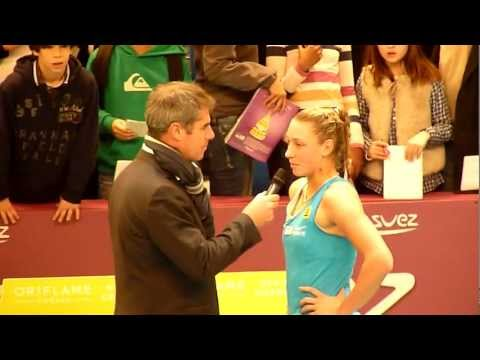 Paris-Coubertin 2012 - Interview en français de Yanina Wickmayer