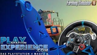 Landwirtschaftsimulator 2015 mit Logitech G29 Lenkrad / Playstation Experience