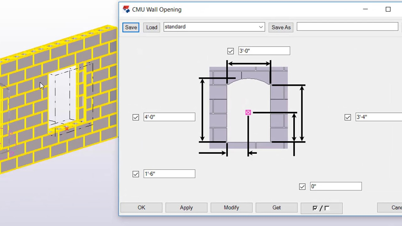 creating concrete masonry walls with tekla structures youtube