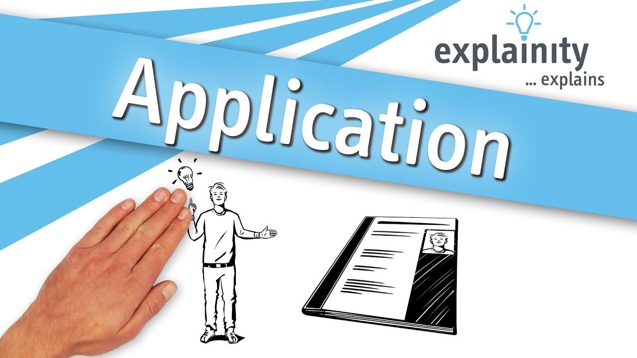 Application Explained Explainity Explainer Video Youtube