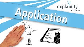 Application explained (explainity® explainer video)
