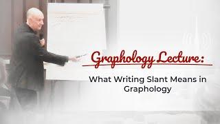 Graphology: Slants