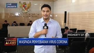 Kementerian koordinator perekonomian menggelar rapat koordinasi tingkat menteri untuk membahas dampak wabah virus corona di sektor perekonomian. rakor tingka...