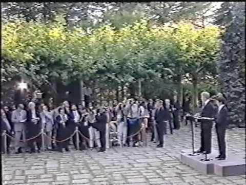 Aznar - Clinton, Palacio de la Moncloa (2/3)