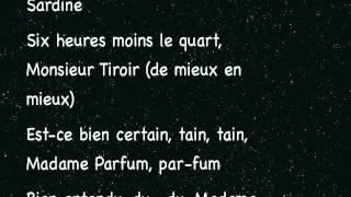 Madame sardine
