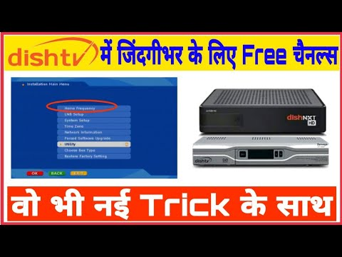 New Trick | How To Watch Lifetime Free Channels On Dishtv STB | By Pure Tech