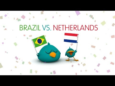 Pocoyo World Cup 2014: Brazil Vs Netherlands (Third Place Play-Off)