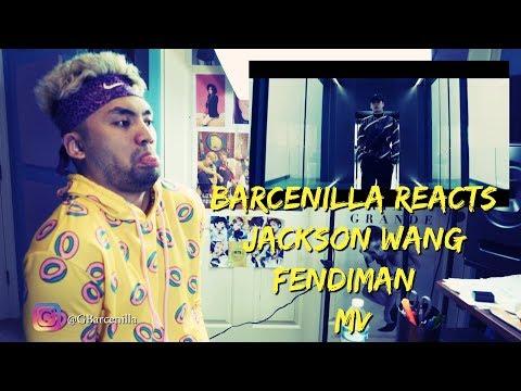 BARCENILLA REACTS - Jackson Wang - Fendiman [MV] - RESPONSE TO HATE