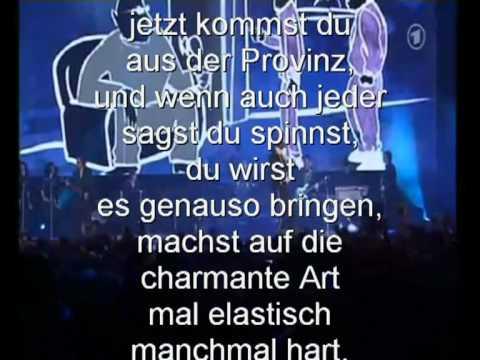 Karaoke, Udo-Lindenberg, mein Ding