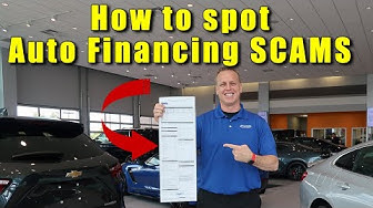 CAR LOAN contracts. How to read them so you don't get SCAMMED into paying too much.