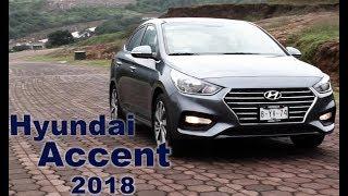 Hyundai Accent 2018. Prueba de Manejo смотреть