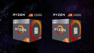 AMD RYZEN 2200G & 2400G 레이븐릿지 신제품리뷰
