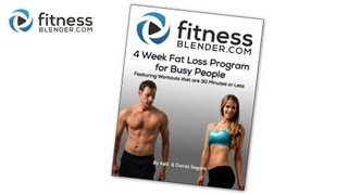 4 Week Fat Loss Program for Busy People is now Available!