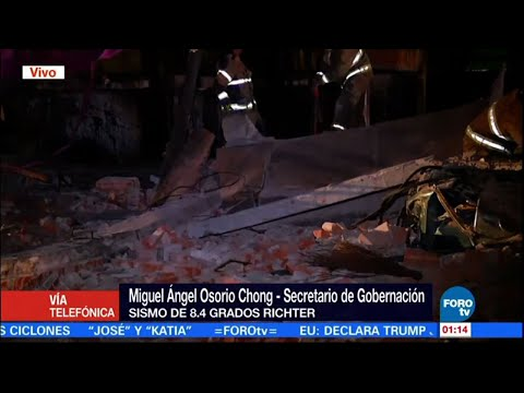 Raw: Mexico Hit by Biggest Quake in Century