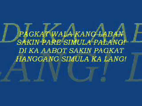 Kaya Mo Ba To Lyrics Youtube