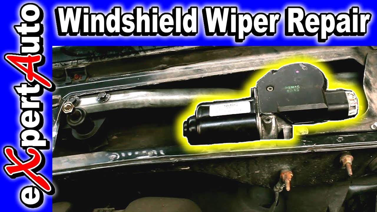 Windshield wipers motor fix repair replace youtube for How do you replace a windshield wiper motor