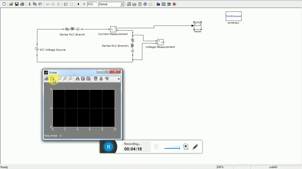 Simulation Of Rl Circuit Analysis Youtube Simulated Inductor For Replacing The Passive