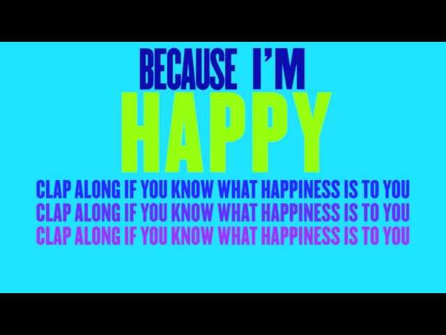 happy - pharrell Williams -(happy - lyric video) (Mi villano favorito 2 Soundtrack) Travel Video