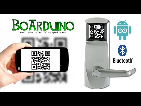 Qr Code Door Lock With Arduino And Android Youtube