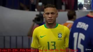 Tuyển Brazil Cùng Neymar Với Giấc Mơ World Cup Cùng Fifa Online 4