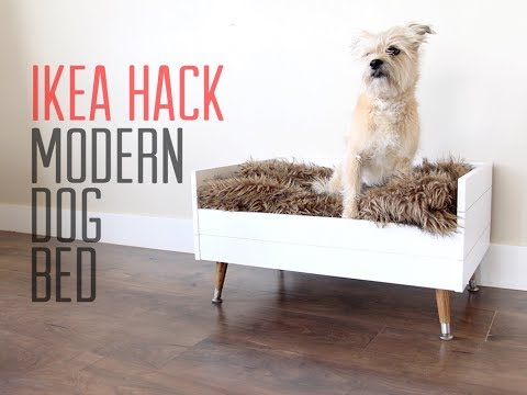 IKEA HACK | DIY Modern Dog Bed