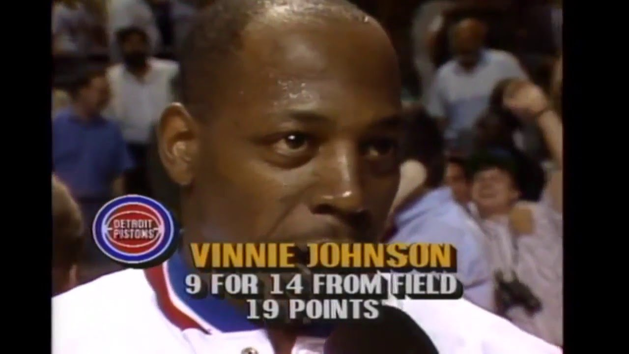 Vinnie Johnson Rips f 10 Fourth Quarter Points in 3 Minutes