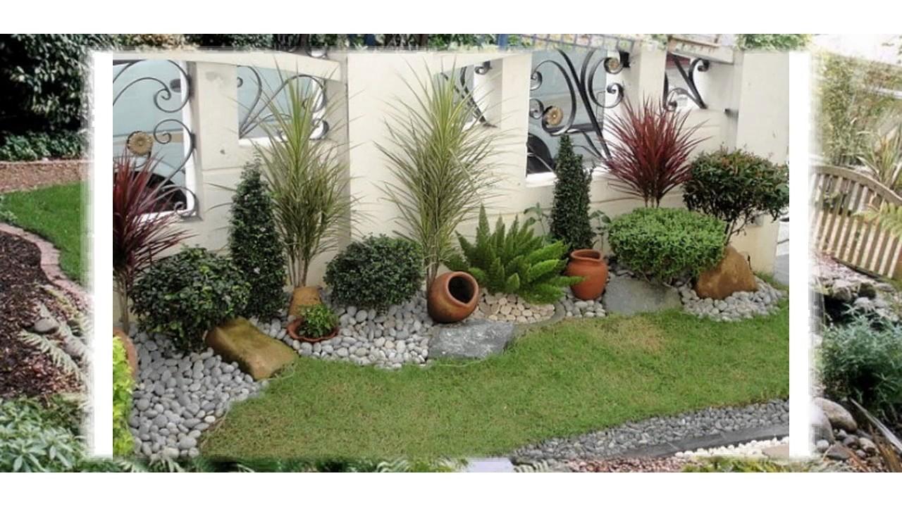 Dise o hermoso del jard n para los espacios peque os para la casa youtube - Diseno de jardines exteriores para espacios pequenos ...