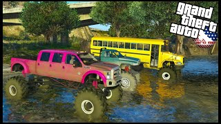 GTA 5 ROLEPLAY - DJ BOUGHT FLAT NASTY MUD TRUCK!? - EP. 977 - AFG -  CIV