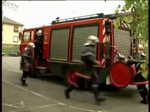 Manoeuvre Pompier M1, établissement d'une LDT