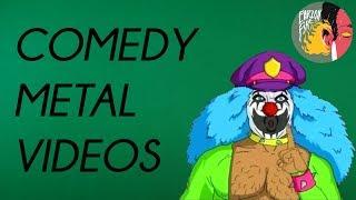 16 Комедийных Метал-клипов / 16 Comedy Metal Music Videos