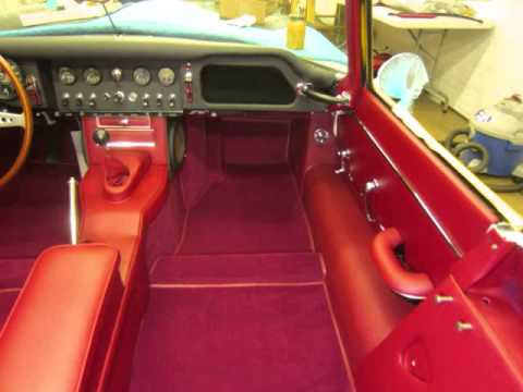 1965 jaguar e type part 2 by paul 39 s custom interiors auto upholstery youtube. Black Bedroom Furniture Sets. Home Design Ideas