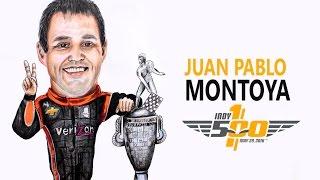 Speed Drawing Juan Pablo Montoya Indy 500 2016/Easy Art