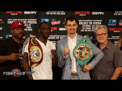 Terence Crawford vs. Viktor Postol COMPLETE Final Press Conference & Face Off