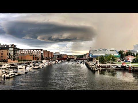 Mit dem Tesla ans Nordkap 2018 - Tag 14 - Mosjoen - Trondheim