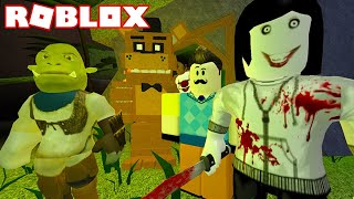 JEFF THE KILLER AND GRANNY KILLS ME! | Creepy Elevator ROBLOX