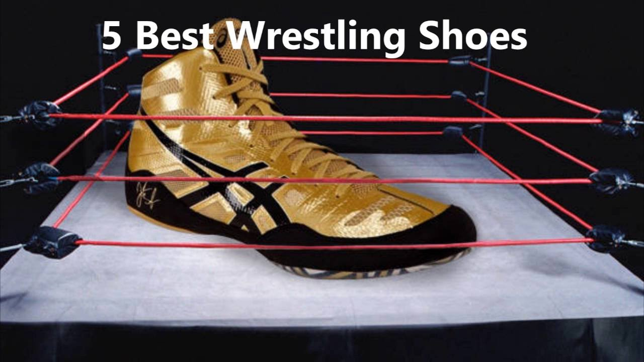 5 Best Wrestling Shoes - YouTube