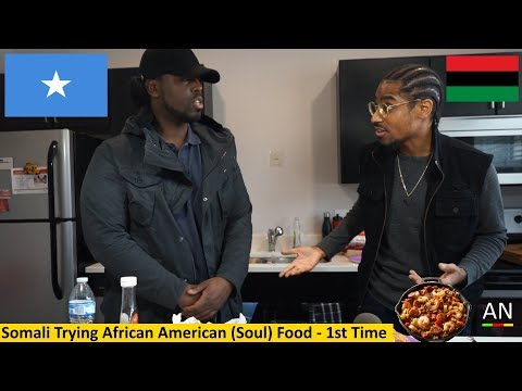 Somali Trying African American (Soul) Food - 1st Time