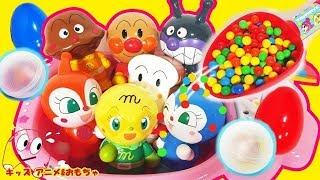 Kids Anime   アンパンマン たまご アニメ テレビ おもちゃ 不思議なお風呂!「たまご」がでてきてバイキンマンやドキンちゃんも大喜び