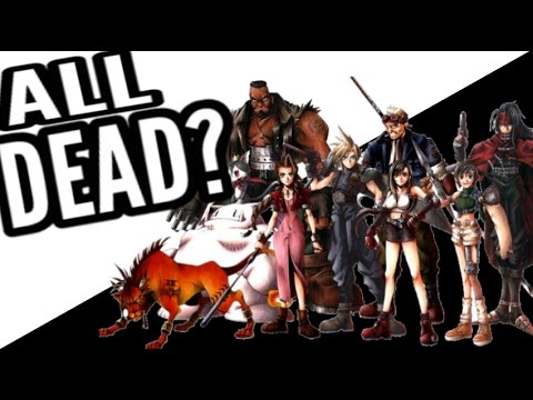 Final Fantasy VII Oral History: All dead in a plane crash ...