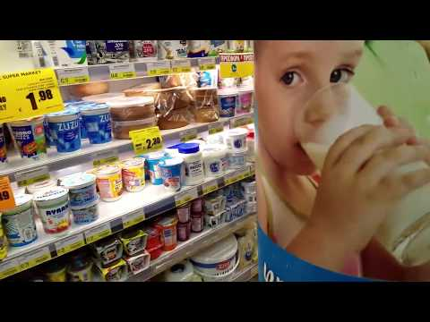 Green Tree Supermarket for Cypriot Food - VIDEO TOUR (Nicosi