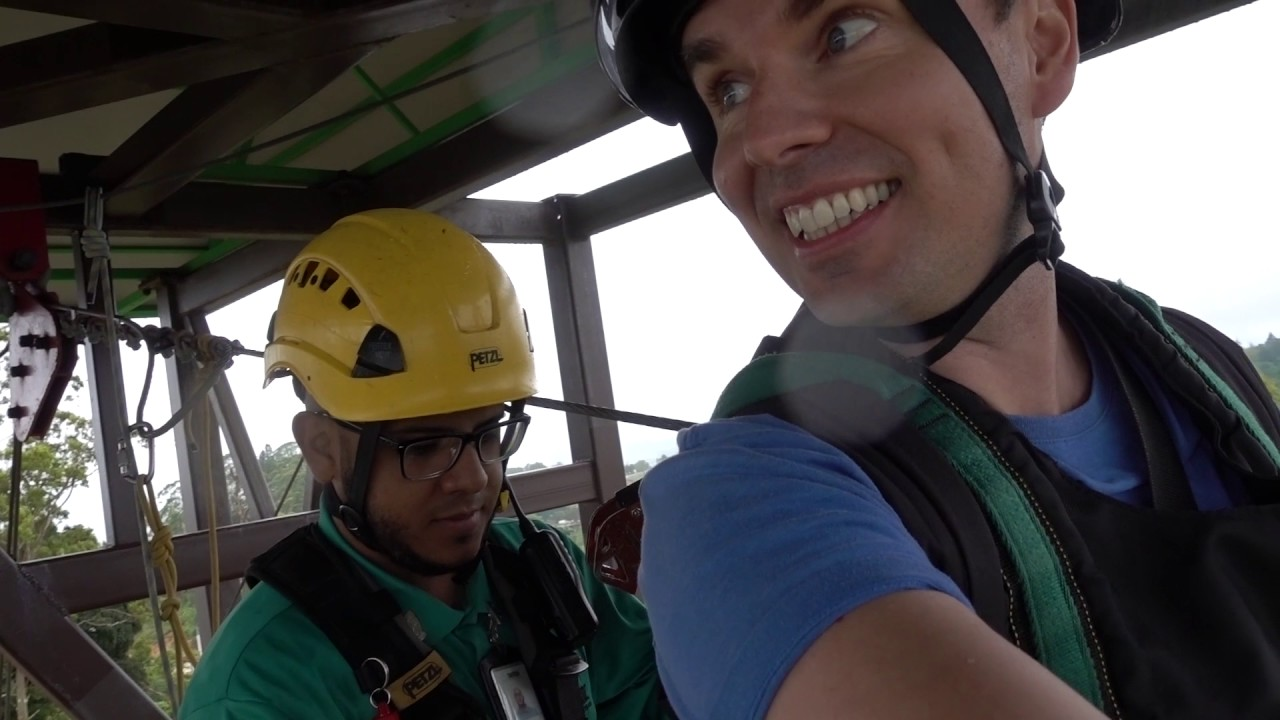 WORLD'S LONGEST ZIPLINE (my footage!)