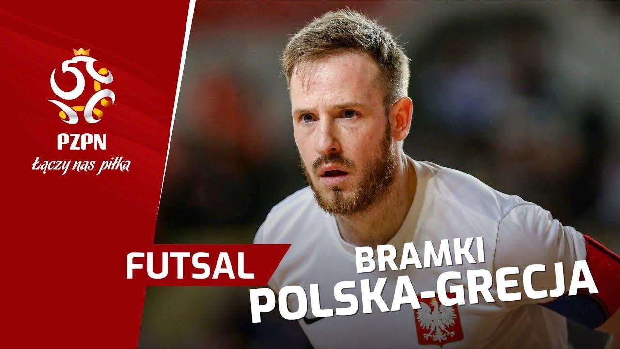 el. ME w futsalu: Skrót meczu POLSKA - GRECJA (5:2)