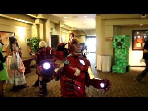 BEST Iron Man cosplay EVER!