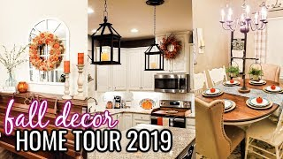 Fall Home Tour 2019 | Fall Decorating Ideas | Cook Clean And Repeat