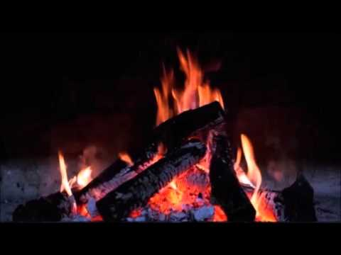 Night Fire w/ NA Flute - Meditation for stress reduction – 3 hours