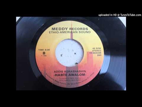 Habte Awalom - Addis Adrashashin Rare Unknown Ethiopian Disco Modern Soul 45