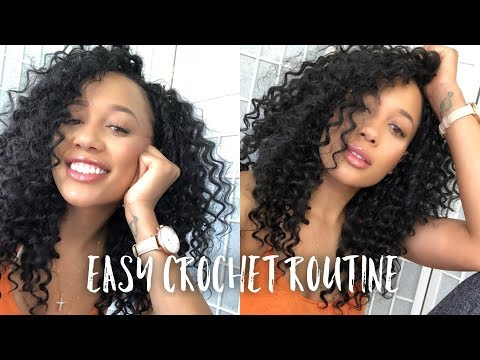 HOW TO: Care & Maintain Old Crochet Braids l Perfect Summer Curls From Trendy Tresses + GIVEAWAY